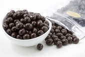 Dark Chocolate Covered Espresso Beans (5 Pound Bag)