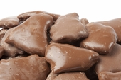 Chocolate Covered Peanut Brittle (5 Pound Bag)