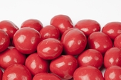 Red Chocolate Covered Cherries (25 Pound Case)