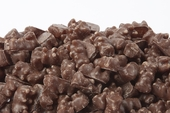 Milk Chocolate Covered Gummy Bears (10 Pound Case)