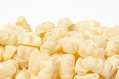 White Chocolate Covered Gummy Bears (25 Pound Case)