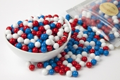 Patriotic Sixlets (4 Pound Bag)