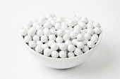 White Sixlets (25 Pound Case)