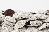 Chocolate Nonpareils (25 Pound Case)