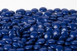 Chocolate Mint Lentils - Dark Blue (1 Pound Bag)