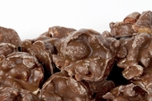 Chocolate Covered Peanut Clusters (10 oz Bag)