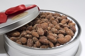 Hickory Smoked Almonds Gift Tin