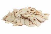 Natural Sliced Almonds (25 Pound Case)