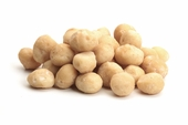 Roasted Whole Macadamias (25 Pound Case)