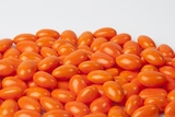 Bright Orange Jordan Almonds (1 Pound Bag)