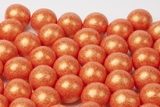 Pearl Orange Gumballs (1 Pound Bag)