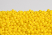 Yellow Sugar Candy Beads (1 Pound Bag)