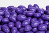 Purple Chocolate Jordan Almonds (1 Pound Bag)