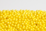 Pearl Yellow Sugar Candy Beads (25 Pound Case)