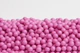 Hot Pink Sugar Candy Beads (25 Pound Case)