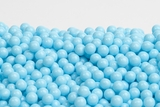 Light Blue Sugar Candy Beads (25 Pound Case)