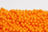 Orange Sugar candy Beads (25 Pound Case)