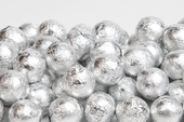 Silver Foiled Milk Chocolate Balls (5 Pound Bag)