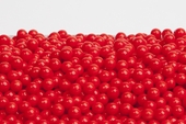 Red Sugar Candy Beads (10 Pound Case)