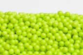 Green Sugar Candy Beads (5 Pound Bag)