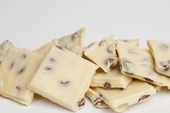 White Chocolate Almond Bark (10 Pound Case)