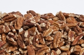 Raw Large Pecan Pieces (1 Pound Bag)