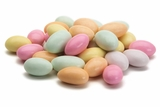 Assorted Jordan Almonds (25 Pound Bag)