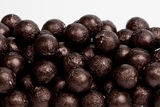 Brown Foiled Milk Chocolate Balls (25 Pound Bag)