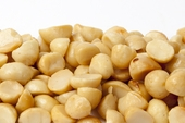 Roasted Macadamias Halves and Pieces (4 Pound Bag)