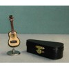 Guitar  with Stand & Case   <br />MUS008