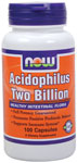 Acidophilus Supplement Two Billion - 100 Capsules, NOW Foods