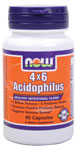Acidophilus Supplement 4X6 - 60 Capsules, NOW Foods