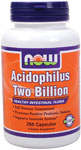 Acidophilus Two Billion - 250 Capsules, NOW Foods