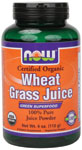 Wheat Grass Juice - 4 oz., NOW Foods