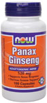 Panax Ginseng 520 mg - 100 Capsules, NOW Foods