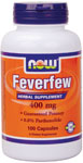 Feverfew Extract 400 mg - 100 Capsules, NOW Foods