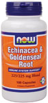 Echinacea & Goldenseal Root - 100 Capsules, NOW Foods