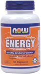 Energy - 90 Capsules, NOW Foods