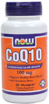 CoQ10 100 mg with Hawthorn Berry Vegetarian - 90 VCaps, NOW Foods