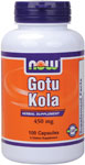 Gotu Kola Supplement 450 mg - 100 Capsules, NOW Foods