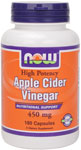 Apple Cider Vinegar 450 mg - 180 Capsules, NOW Foods