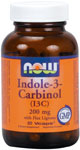 Indole-3-Carbinol  ( I3C ) 200 mg - 60 VCaps, NOW Foods