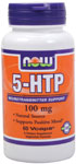5-HTP 100 mg - 60 VCaps, NOW Foods