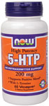 5-HTP 200 mg+ Tyrosine B-6 60 VCaps, NOW Foods