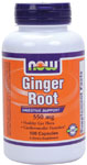 Ginger Root 550 mg - 100 Capsules, NOW Foods