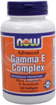 Advanced Gamma E Complex - 120 Softgels, NOW Foods