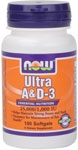 Ultra A & D3 - 100 Softgels, NOW Foods