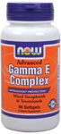 Advanced Gamma E Complex - 60 Softgels, NOW Foods