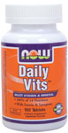 Daily Vits Multivitamin - 100 Tabs, NOW Foods