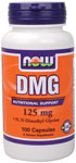 DMG Supplement 125mg - 100 Capsules, NOW Foods